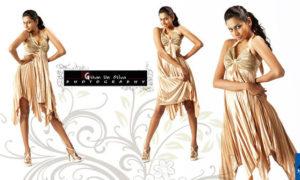 Amanda Silva Poses In Mini Dress