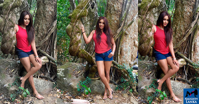 Ashiya Dassanayake legs