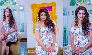 Chulakshi Ranathunga Hot in White Dress