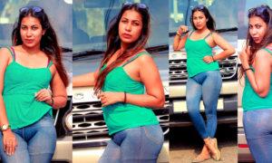 Jayani Alahapperuma Poses on a Discovery
