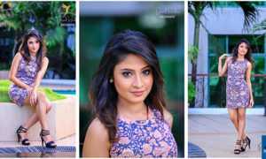 Sachini Ruwanthika Outdoor Photo Shoot