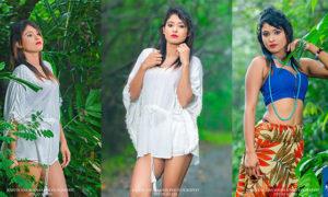Adisha Shehani Hot Jungle Photoshoot