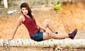 Adisha Shehani Hot Legs Exposed