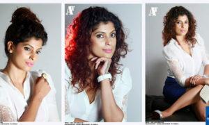 Aishara Athukorala Smiling Face Close Up Photo Shoot