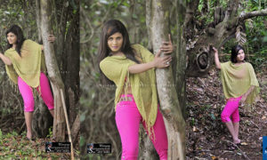 Anjula Gamage Hot In Her Pink Pants
