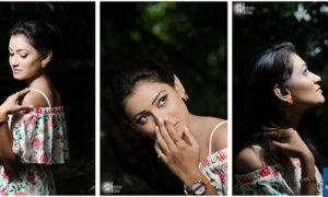 Anurangi Hettiarachchi Hot Dark Night Photo Shoot