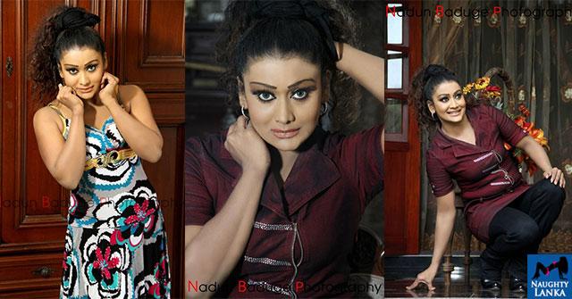 Anusha Damayanthi Hot Poses