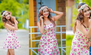 Chalani Nisansala Teases You With Her Sexy Dress