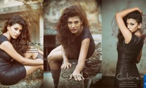 Chamathka Lakmini Look Hot In Black Dress