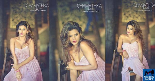 Chamathka Lakmini Poses For A Portrait