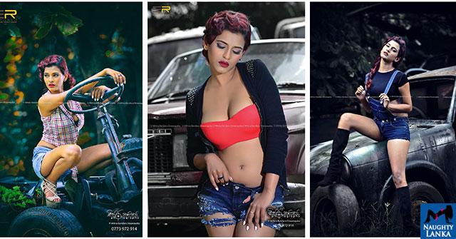 Chamathka Lakmini Hot Looking Photos