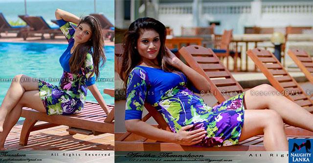 Chulakshi Ranathunga Flaunts Her Toned Legs