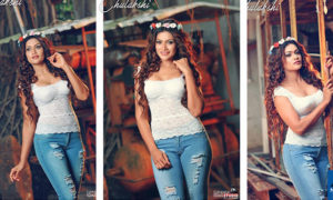 Chulakshi Ranathunga Looks Hot In Tight Ripped Jean