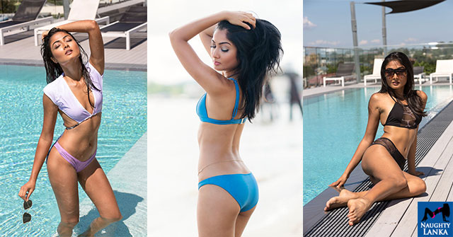 Darni Alweera Likes To Chill In Her Bikinis