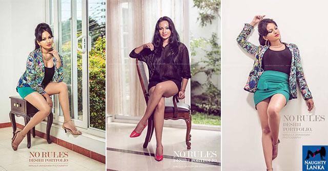 Deshii Senadhira Flaunts Her Toned Legs