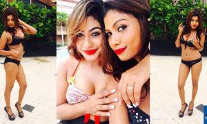 Dilini Aththanayake Looks Beach Ready In Black Bikini