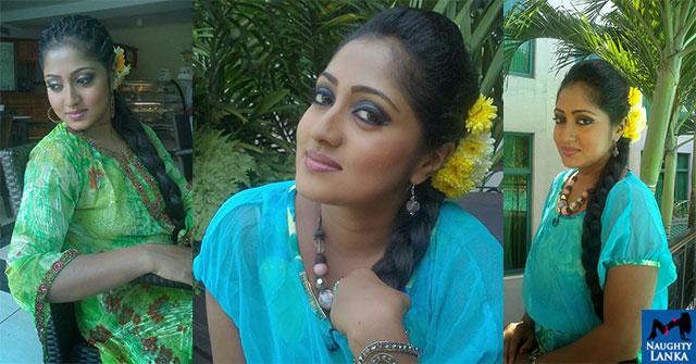 Dilini Lakmali Long Hair Looks Awesome
