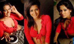 Dinusha Kondadeniya Hot Cleveage Spicy Photoshoot