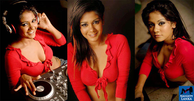 Dinusha Kondadeniya Hot Cleveage Spicy Photoshoot