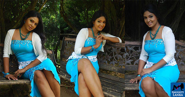Dulani Anuradha Blue Tight Dress Hot Photos