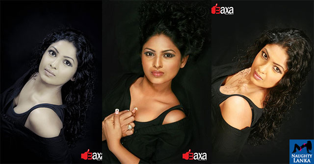 Dulani Anuradha Hot Sexy Black Dress