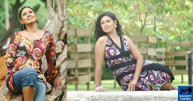 Dulani Anuradha Outdoor Poses