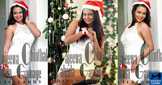 Gayesha Perera Sexy Outfit For Christmas