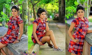Geethika Rajapaksha Hot In Sexy Mini Dress