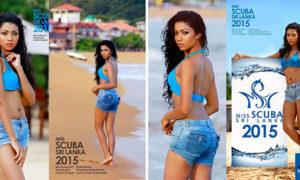 Harini Kawyanjani Perera Hot Miss Scuba Sri Lanka Photo Shoot