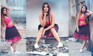 Yameesha Rasadi Sexy Poses During A Photoshoot