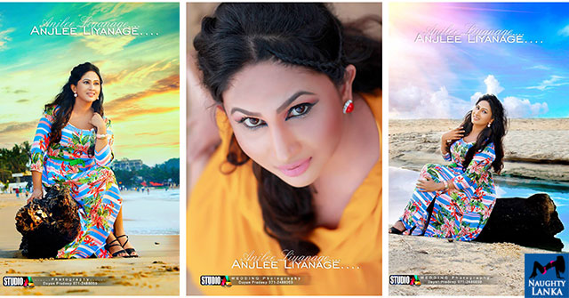 Anjalee Liyanage New Beach Photo Shoot