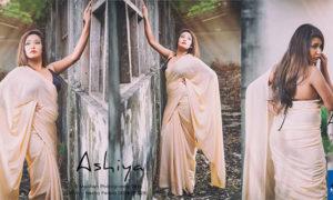 Ashiya Dissanayake Saree Fashions Photos