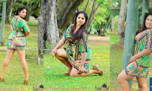 Bhakthy Anjalee Tennakoon Hot Legs Exposed