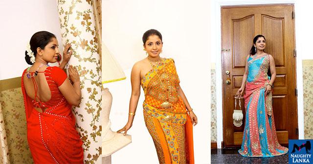 Dilhani Ekanayake Saree Fashions