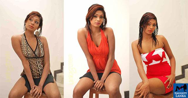 Dinusha Rajapakse Flaunts Her Toned Legs