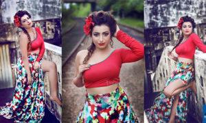 Disala Sasmini Samaraweera Flaunts Cleavage