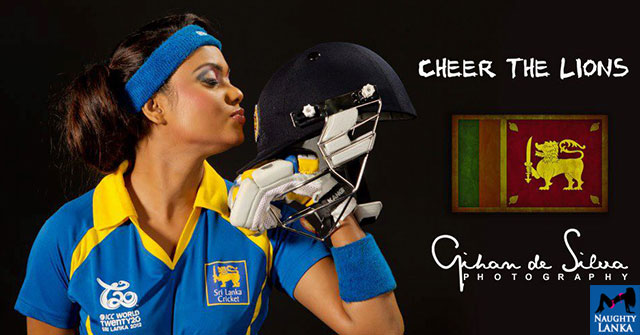 Gayesha Perera Cheers For Lions