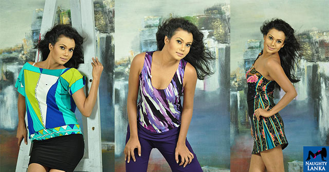 Gayesha Perera Looks Hot During A Photo Shoot