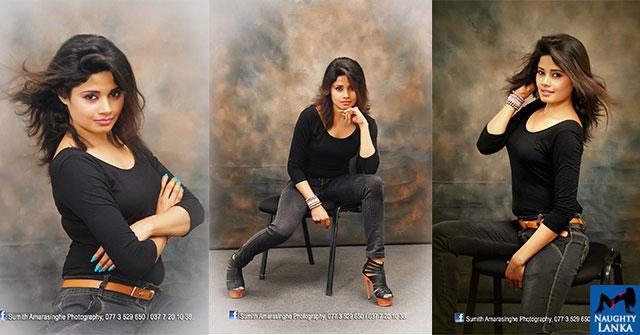 Geethika Rajapaksha Beauty In Black