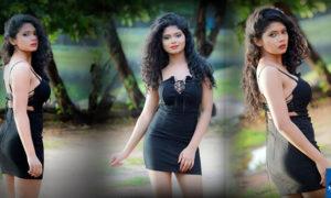 Hasini Samuel Beauty In Black
