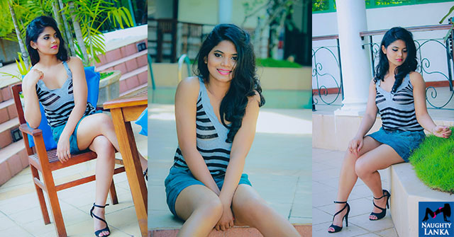 Hasini Samuel Blue Hot Demin Shorts