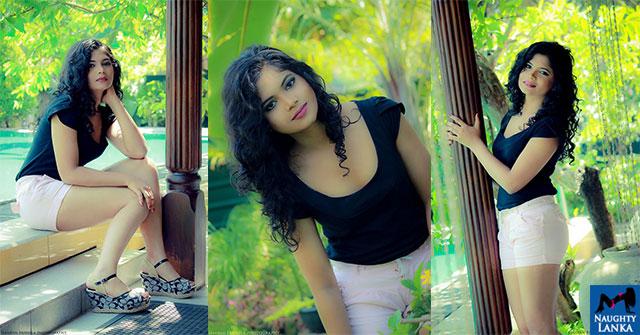 Hasini Samuel Flaunts Her Toned Legs