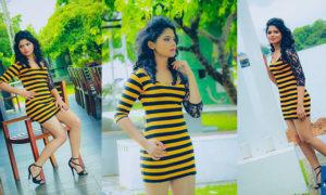 Hasini Samuel Sexy Mini Dress