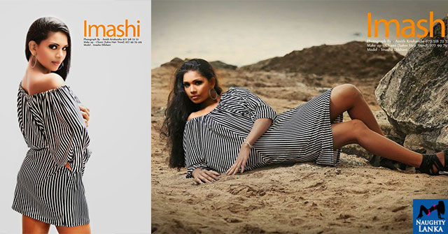 Imasha Dilshani Beach Photoshoot