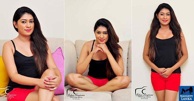 Imesha Dissanayaka Show Off Her Hot Thighs