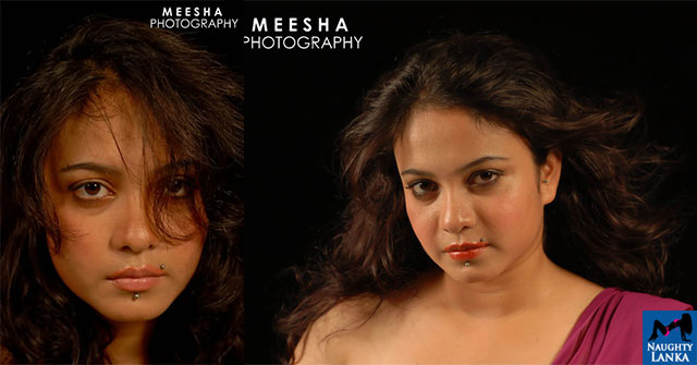Irosha Perera Close Up Photo Shoot