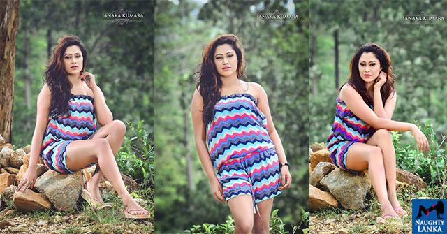 Ishi Amarasinghe Flaunts Her Toned Legs