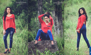 Ishi Amarasinghe Hot In Ripped Jeans