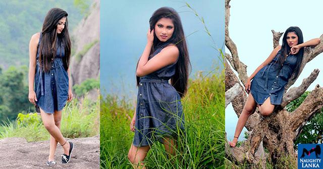 Jayani Karunarathna Hot In Flirty Dress