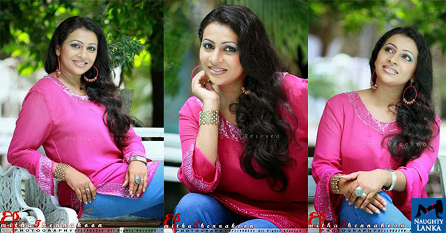 Kanchana Mendis Close-Up Photo Shoot